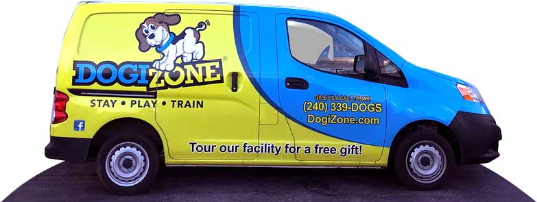 DogiZone transportation van