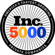 One of Inc. 5000 Fastest Growing Private Companies in America